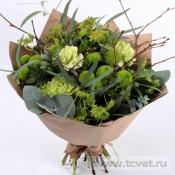 Букет Праздник зеленый