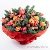 Зимний Глинтвейн подарочный букет
