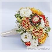 Букет невесты Шебби Шик