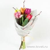 Тюльпаны микс в упаковке S