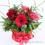 Улыбка весны красная