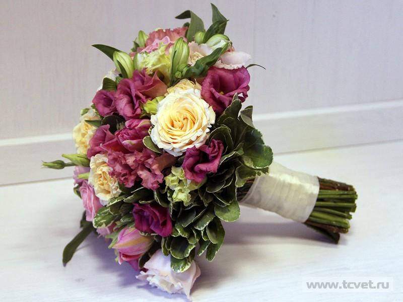 Букет невесты от ТОЧКАЦВЕТОЧКА
