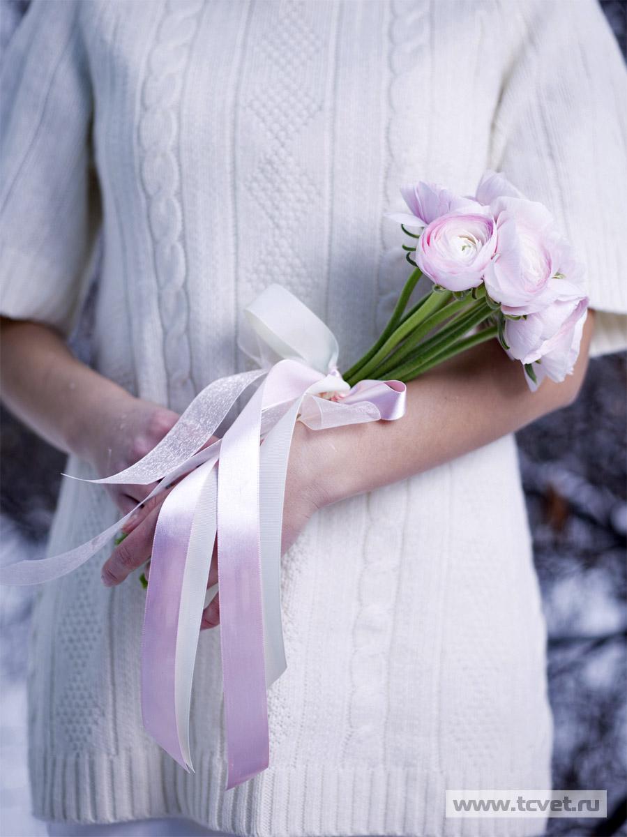 Свадебный букет Малиновый мусс фото 2
