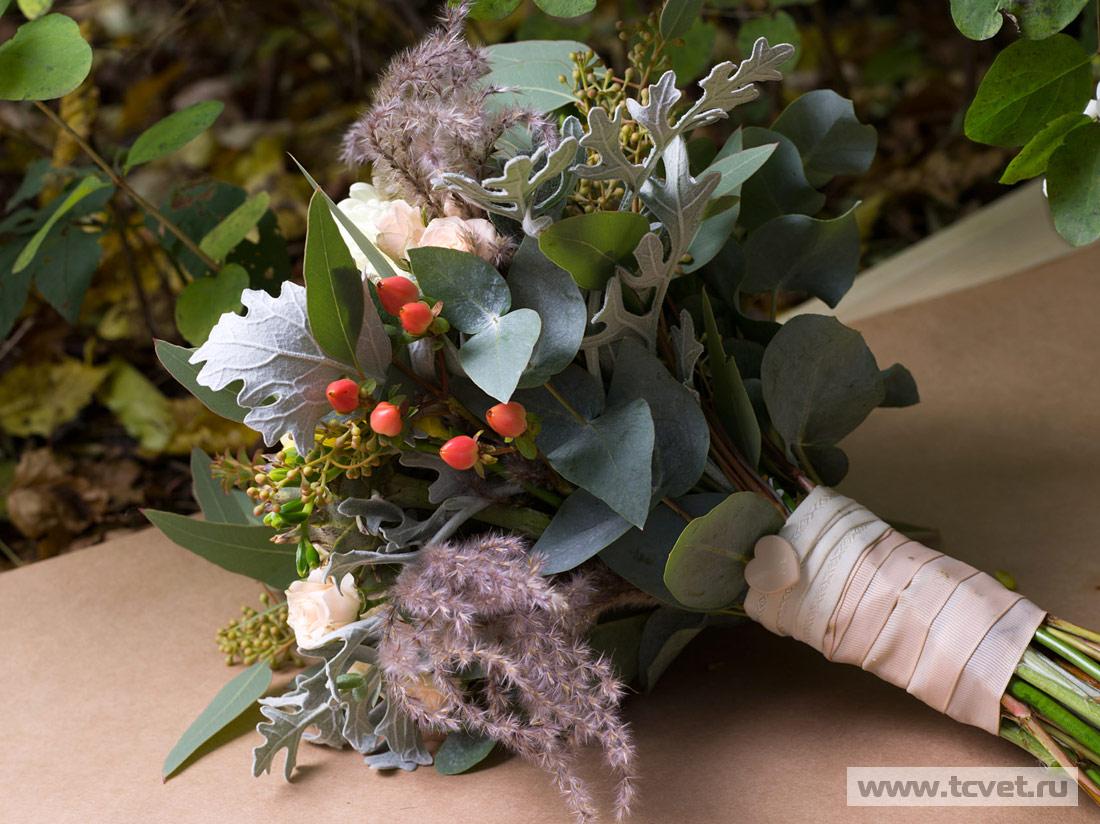 Букет невесты Нежная осень фото 2
