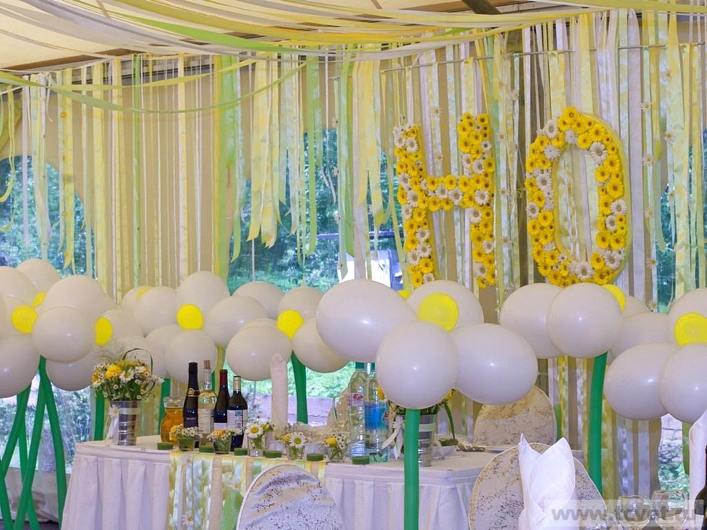 Материалы для украшения свадебного зала своими руками