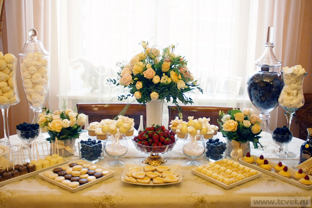 Фуршет на свадьбу дома у невесты своими руками