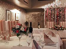 Оформление свадьбы в ресторане Secret garden