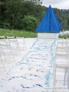 Морская свадьба в Валуево. Фото 64