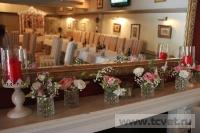 Оформление свадьбы в ресторане Secret garden. Фото 6