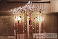 Оформление свадьбы в ресторане Secret garden. Фото 9