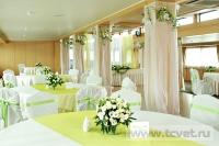 Оформление зала на теплоходе Ушаков. Фото 11