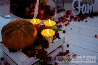 Осенняя свадьба в загородном клубе ArtiLand. Фото 19