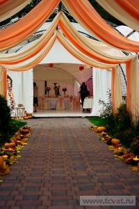 Осенняя свадьба в загородном клубе ArtiLand. Фото 32