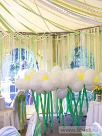 Ромашковая свадьба. Воздушные ромашки