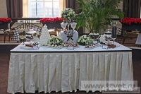 Примеры оформления сладкого стола. Фото 3