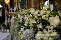 Украшение белыми цветами зала Яръ. Фото 1