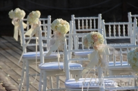 Свадьба в стиле Гэтсби в шатре. Фото 11