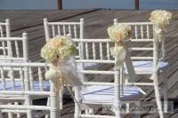Свадьба в стиле Гэтсби в шатре. Фото 12