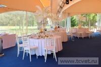 Свадьба в стиле Гэтсби в шатре. Фото 17