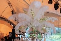 Свадьба в стиле Гэтсби в шатре. Фото 20