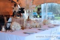 Свадьба в стиле Гэтсби в шатре. Фото 30