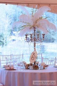 Свадьба в стиле Гэтсби в шатре. Фото 51