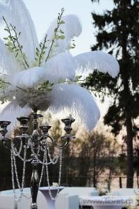 Свадьба в стиле Гэтсби в шатре. Фото 57