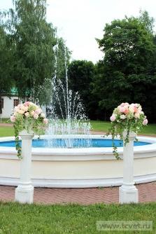 Свадьба в усадьбе Князей Голицыных в Кузьминках. Фото 12