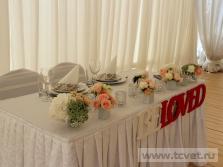 Украшение свадебного шатра в Парке Победы. Фото 10