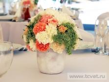 Украшение свадебного шатра в Парке Победы. Фото 18
