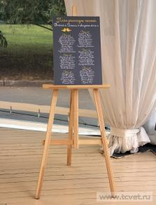 Украшение свадебного шатра в Парке Победы. Фото 8