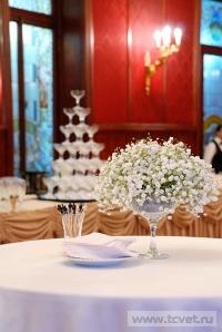 Украшение зала в ресторане Метрополь. Фото 4
