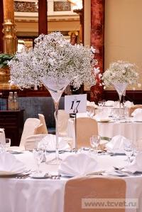 Украшение зала в ресторане Метрополь. Фото 5