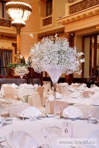 Украшение зала в ресторане Метрополь. Фото 6
