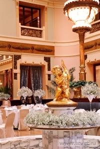 Украшение зала в ресторане Метрополь. Фото 7