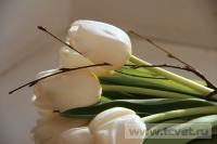 Зимняя свадьба с Белыми тюльпанами Кузьминки. Фото 3