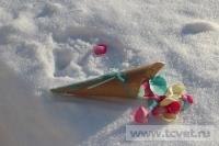 Зимняя свадьба с Белыми тюльпанами Кузьминки. Фото 13
