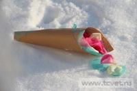Зимняя свадьба с Белыми тюльпанами Кузьминки. Фото 16