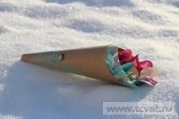 Зимняя свадьба с Белыми тюльпанами Кузьминки. Фото 17