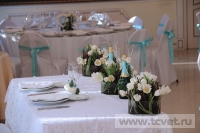 Зимняя свадьба с Белыми тюльпанами Кузьминки. Фото 23