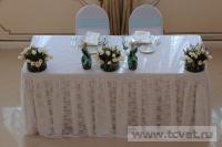 Зимняя свадьба с Белыми тюльпанами Кузьминки. Фото 25