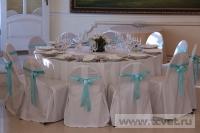 Зимняя свадьба с Белыми тюльпанами Кузьминки. Фото 31