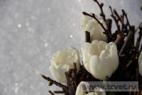 Зимняя свадьба с Белыми тюльпанами Кузьминки. Фото 66