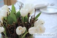 Зимняя свадьба с Белыми тюльпанами Кузьминки. Фото 39