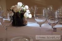 Зимняя свадьба с Белыми тюльпанами Кузьминки. Фото 41