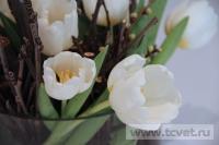 Зимняя свадьба с Белыми тюльпанами Кузьминки. Фото 42