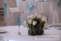 Зимняя свадьба с Белыми тюльпанами Кузьминки. Фото 43