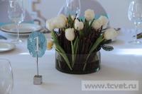 Зимняя свадьба с Белыми тюльпанами Кузьминки. Фото 45