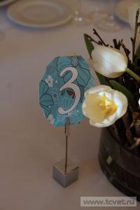 Зимняя свадьба с Белыми тюльпанами Кузьминки. Фото 46