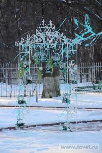 Зимняя свадьба с Белыми тюльпанами Кузьминки. Фото 67
